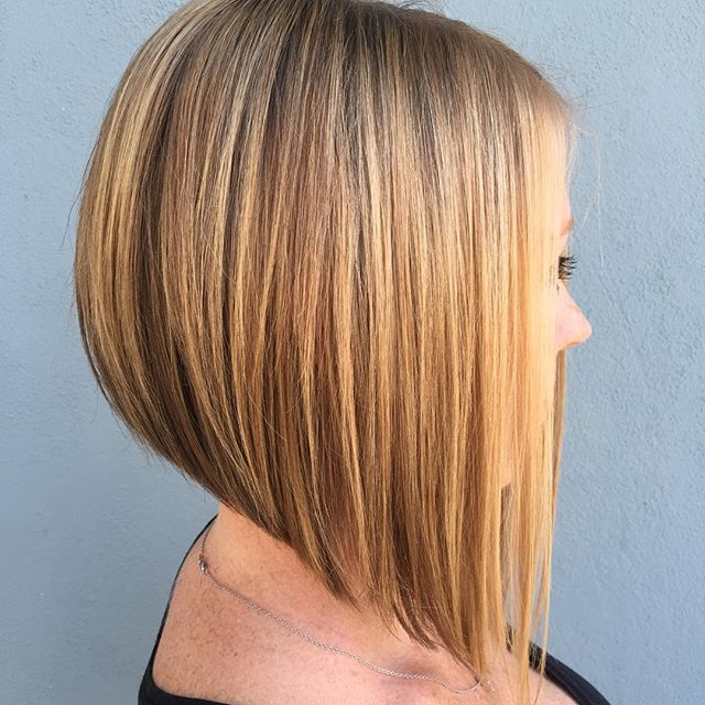 Inverted-A-Line-Bob-Hairstyles 20 of the Most Hottest A-Line Bob Hairstyles