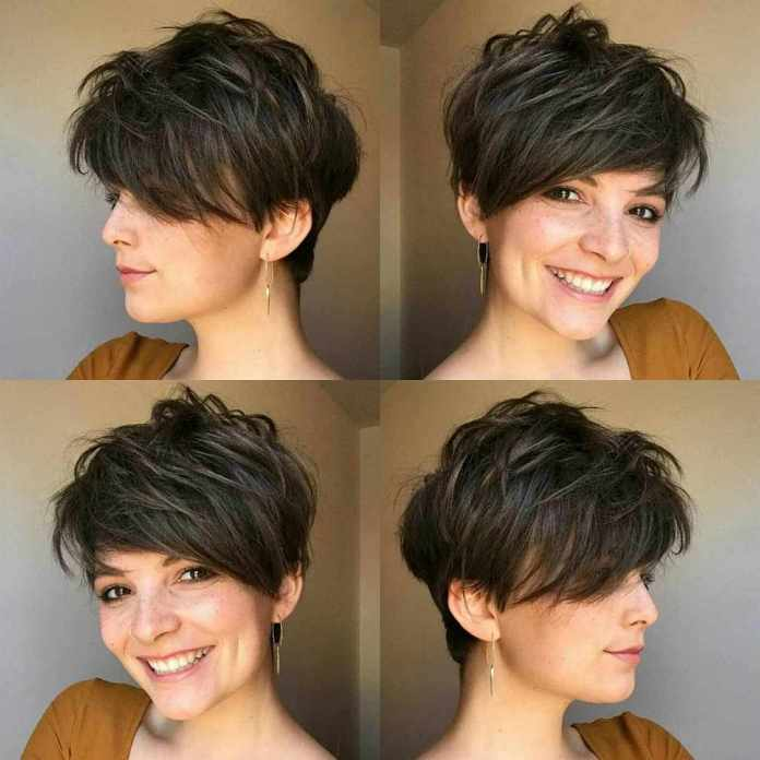 Layered-Crop-Pixie-Cut Roaring and Attractive Short Hairstyles 2020