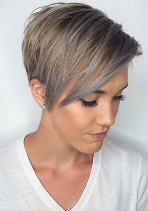 Layered-Pixie 14 stunning Short Haircuts and Hairstyles for Fine Hair