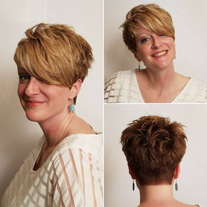 Layered-Wings Glamorous Pixie Cut 2020 for Astonishing Look
