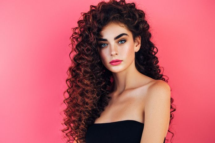Long-Thick-Curly-Hairstyle Trendy and Stunning Long Hairstyles 2020