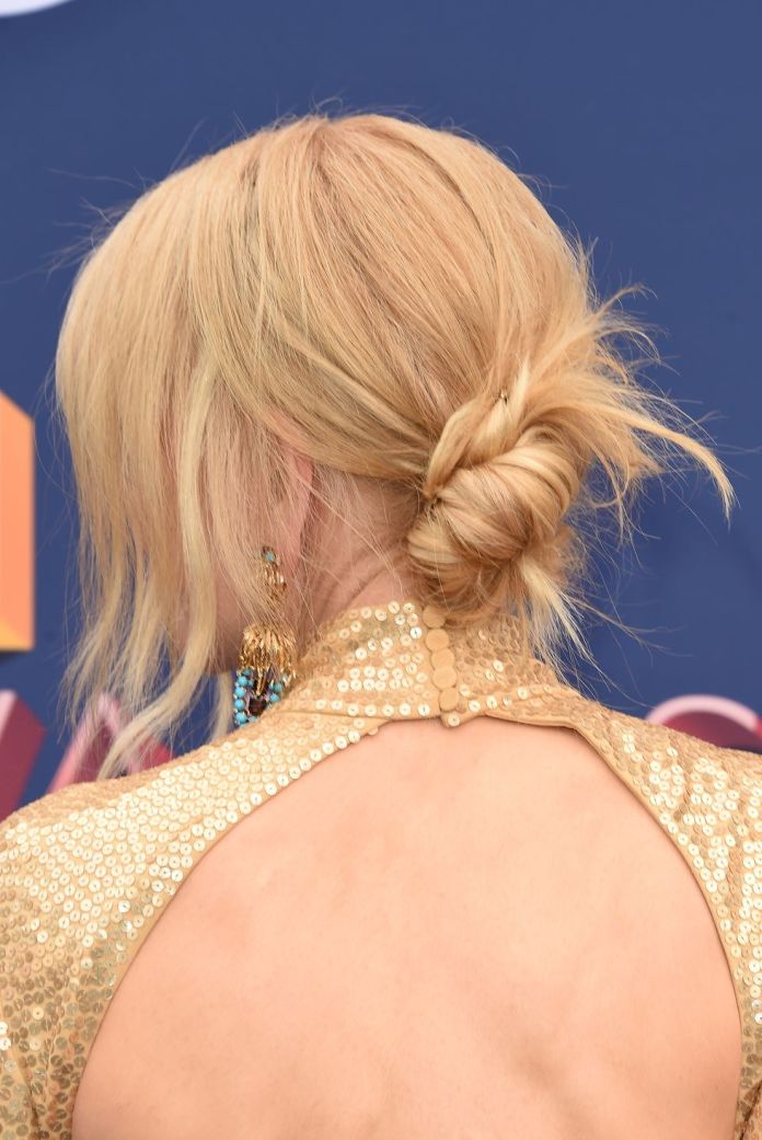 Low-Messy-Chignon 12 Elegant Hairstyles for Any Formal Occasions