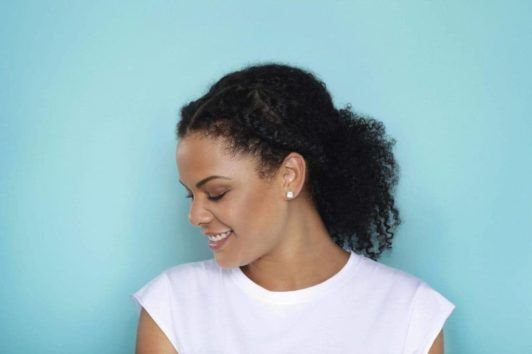 Low-Ponytail 16 Stunning Natural Hairstyles for Black Women