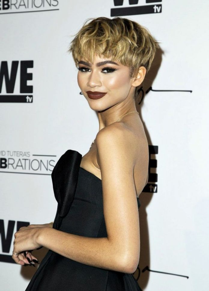 Rebellious-Feathered-Pixie Roaring and Attractive Short Hairstyles 2020