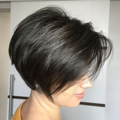 Short-Rounded-Bob-with-Root-Lift 12 Stunning short layered bob haircuts