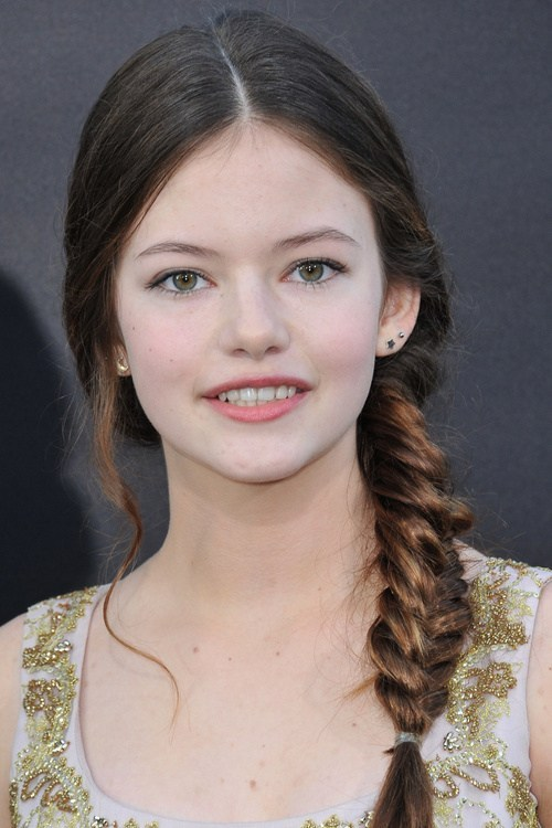 Side-Fishtail 14 Cute Haircuts for Teenager Girls to Put You on Center Stage