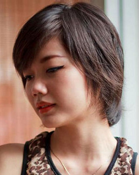 Simple-and-Cute-Bob-Hairstyle Cute Short Hairstyles