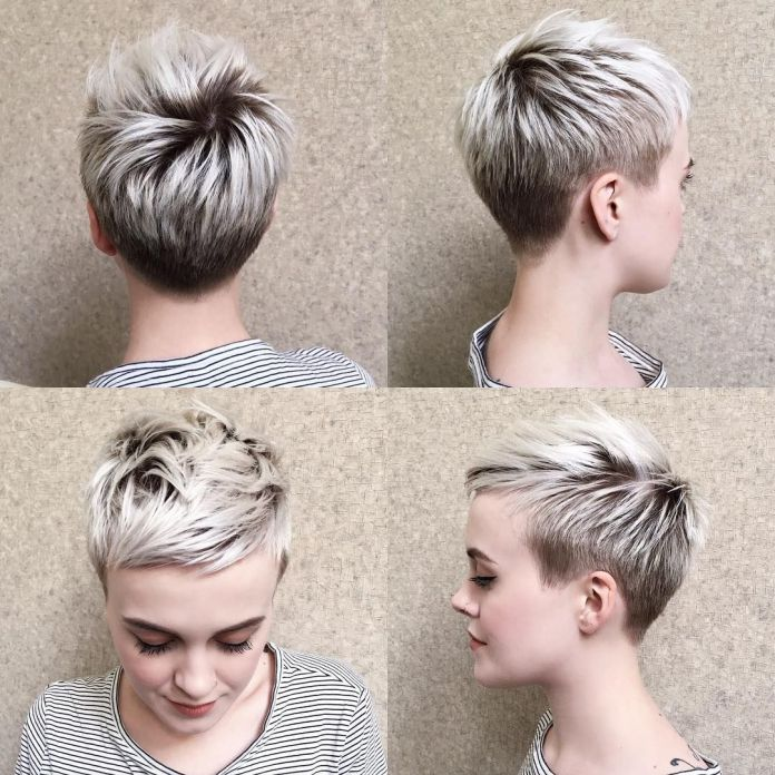 Tiny-Spikes-with-Flicks Glamorous Pixie Cut 2020 for Astonishing Look
