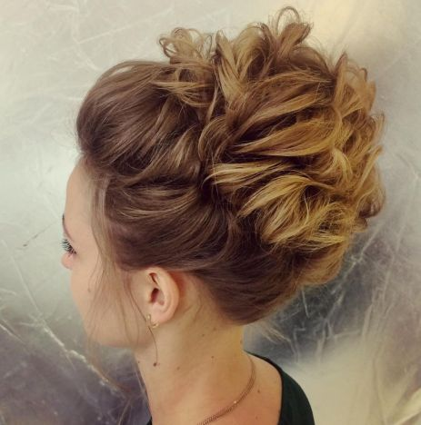 Updo-with-Pinned-Waves 15 Picture-Perfect Hairstyles for Long Thin Hair