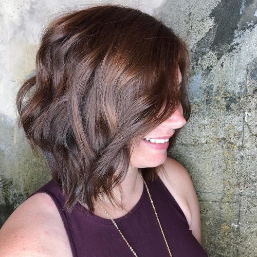 gorgeous-with-layers 12 Winning-looks Layered Bob Hairstyles