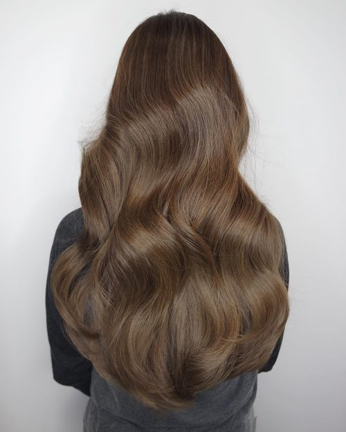 long-wavy-brown-hair-with-volume 10 Long Wavy Hair Ideas will inspire your next cut