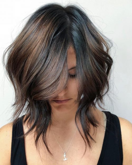 sizzling-long-layers 12 Stunning short layered bob haircuts