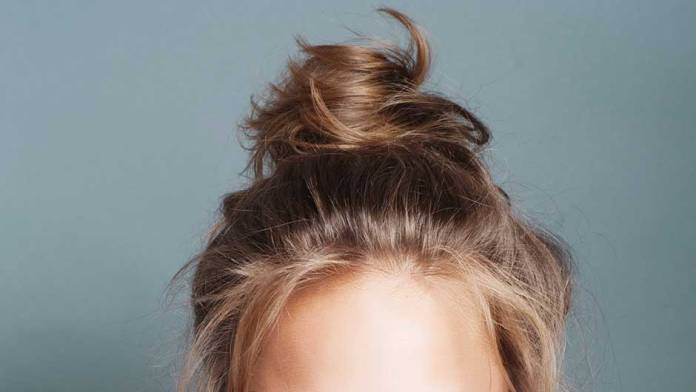 sleepinbun Sleeping with Your Hair In A Bun, why not?