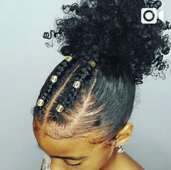 Beaded-and-Braided Cutest Braided Hairstyles for Little Girls Right Now