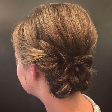 Bohemian-Updo-for-Short-Hair 15 Super Chic Updo Ideas for Short Hair
