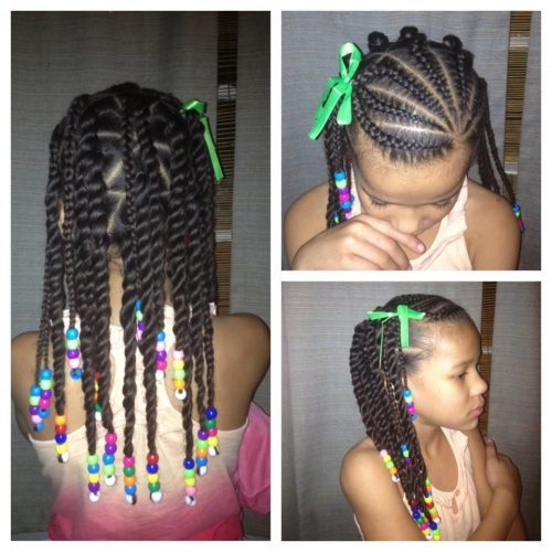 Caramel-Highlights-1 Cutest Braided Hairstyles for Little Girls Right Now