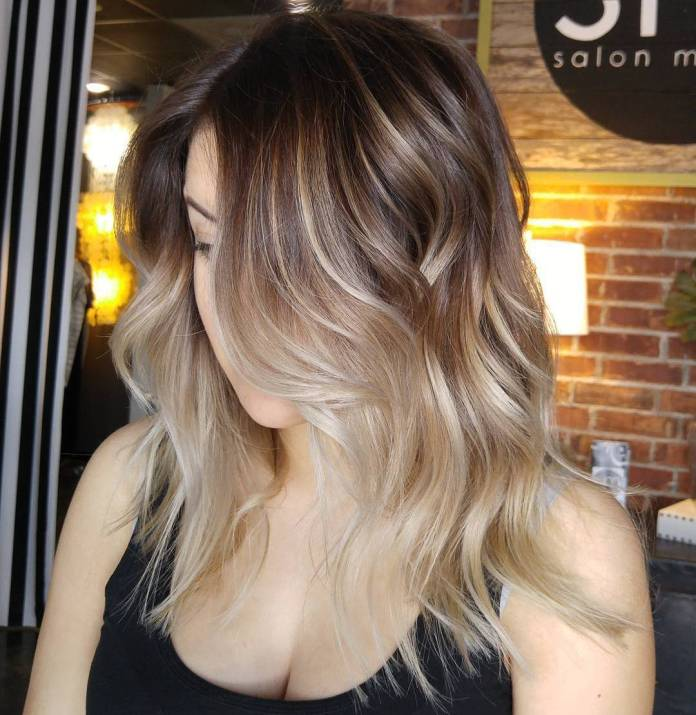 Champagne-Ombre 14 Best Ombre Hair Color Ideas for all hair color