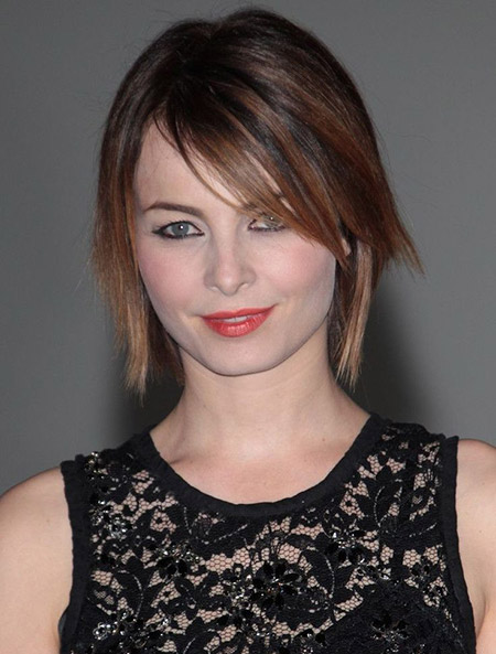 Charming-Layered-Bob-Cut1 Short Hairstyles for Straight Hair