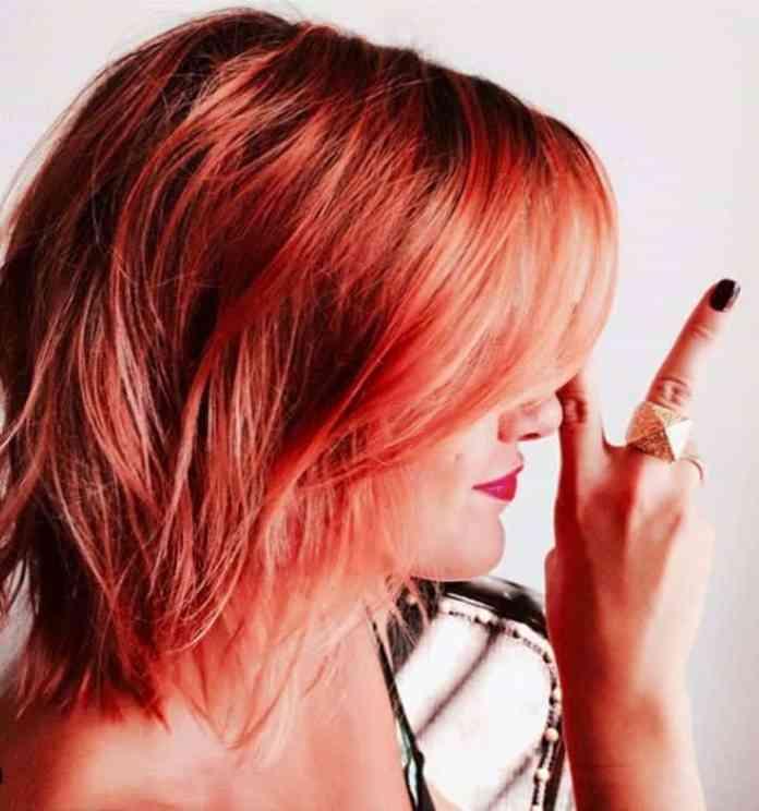 Coral-Orange-Ombre Orange Ombre Hair – 12 Revolutionary Ideas to Rock