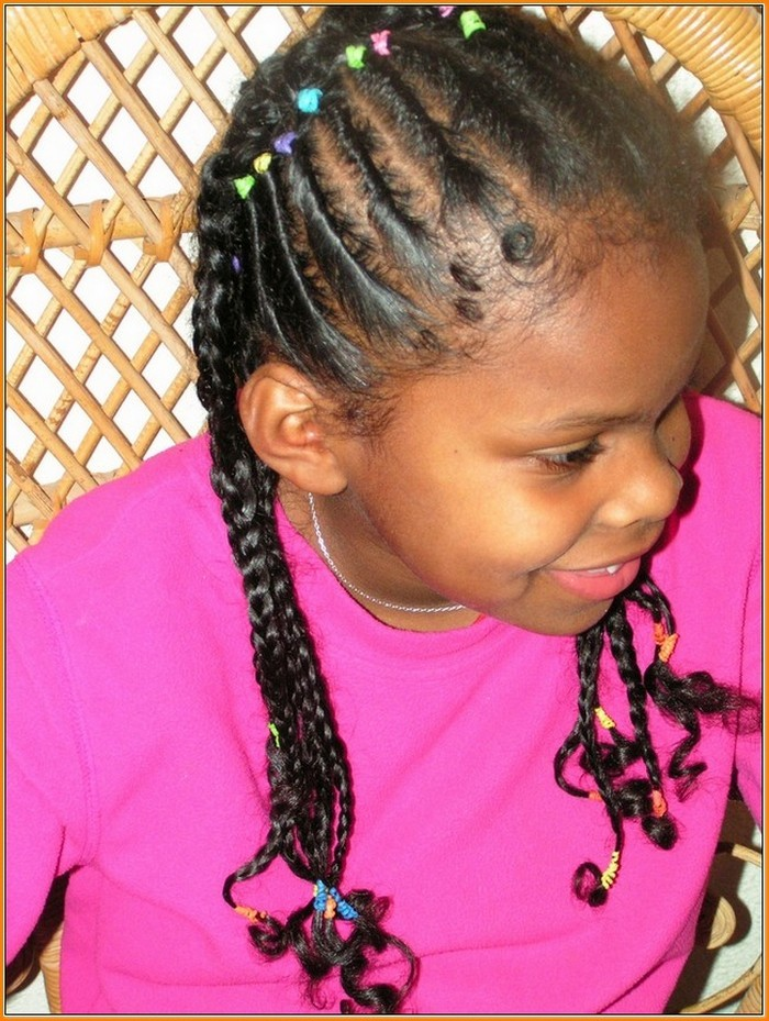 Curly-Tips Cutest Braided Hairstyles for Little Girls Right Now
