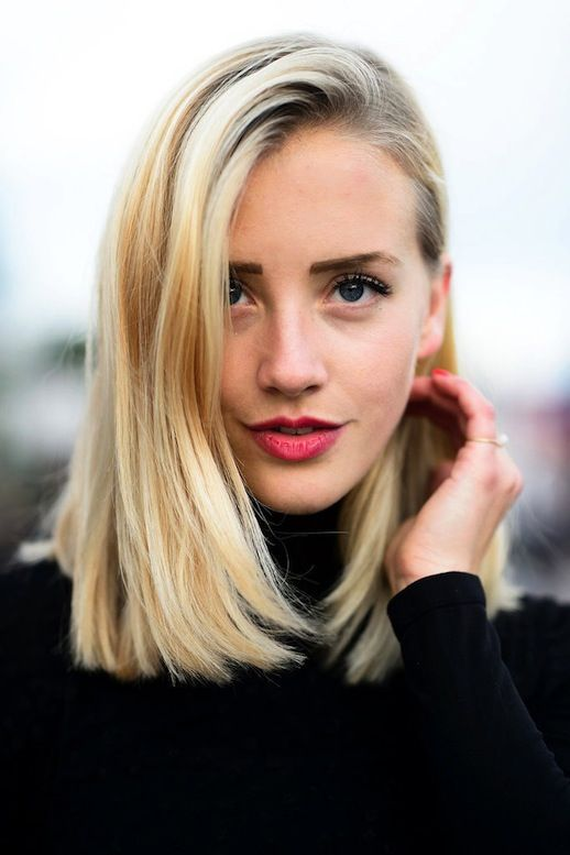 Dark-Roots-Bob Most Hottest and Sexiest Long Bob Haircuts