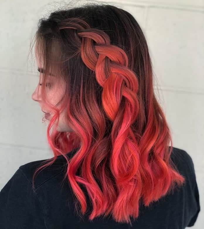 Dutch-Braid-Crown Balayage Highlights: Top 10 Styles to Brighten Your Look