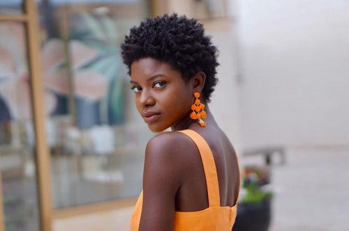 Easy-TWA-Teeny-Weeny-Afro 10 trendy short hairstyles for blackwomen