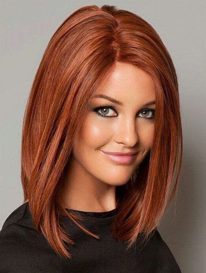 Fiery-Bob Most Hottest and Sexiest Long Bob Haircuts