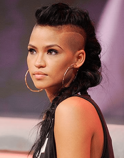 Half-Shaved-Head-Hairstyles-13 Brilliant Half Shaved Head Hairstyles for Young Girls