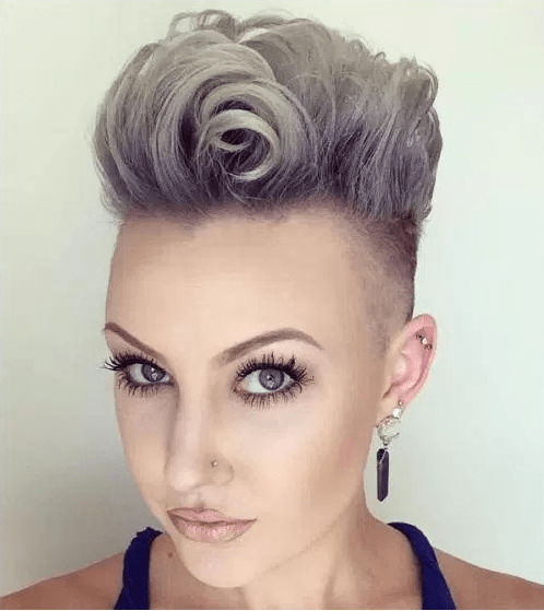 Half-Shaved-Head-Hairstyles-3 Brilliant Half Shaved Head Hairstyles for Young Girls
