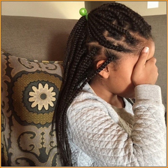 Half-Up-Half-Down Cutest Braided Hairstyles for Little Girls Right Now