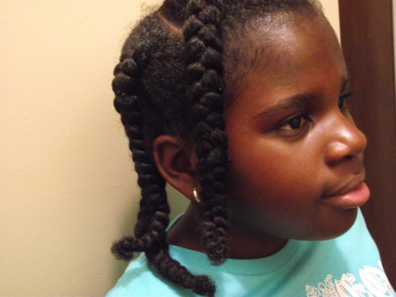 Jumbo-Braids-for-Kids Cutest Braided Hairstyles for Little Girls Right Now