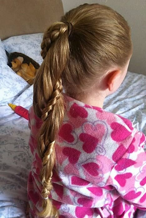 Kids-Braided-Ponytail Cutest Braided Hairstyles for Little Girls Right Now