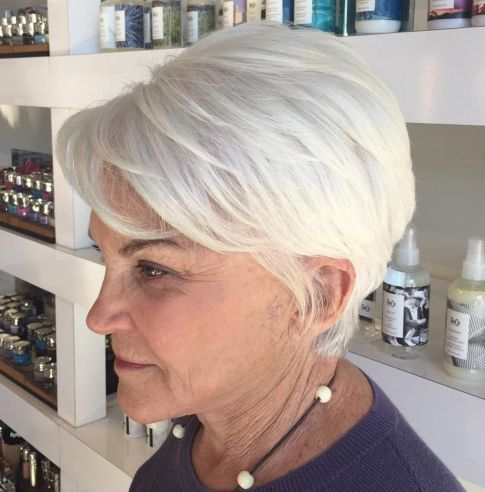 Layered-Tapered-Pixie-Cut Hairstyles for Women Over 60