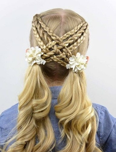 Little-Girl's-Braids-with-Beads-18 How to Style Little Girl's Braids with Beads