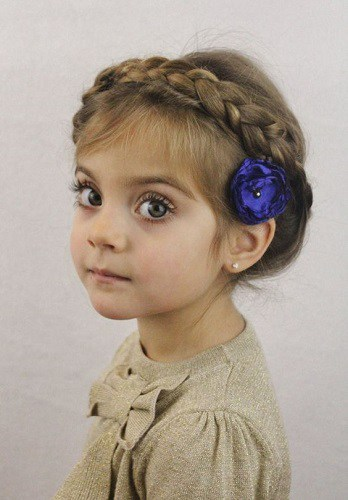 Little-Girl's-Braids-with-Beads-19 How to Style Little Girl's Braids with Beads