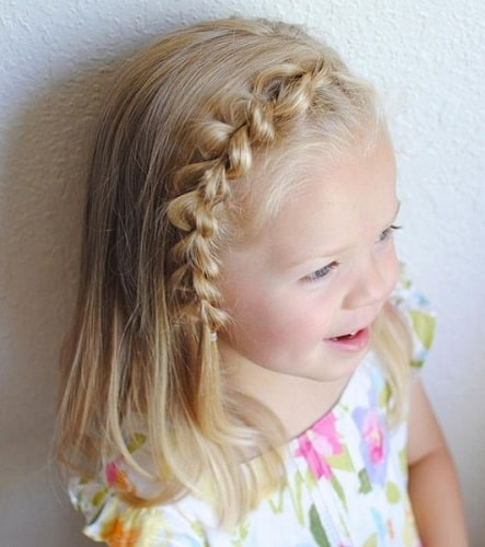 Little-Girl's-Braids-with-Beads-21 How to Style Little Girl's Braids with Beads