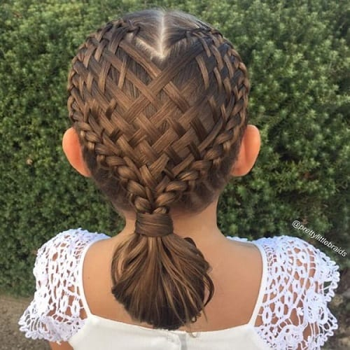 Little-Girl's-Braids-with-Beads-25 How to Style Little Girl's Braids with Beads