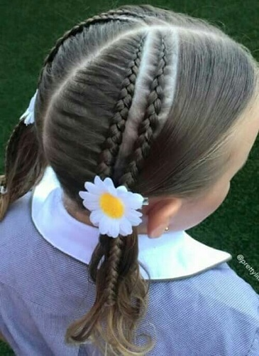 Little-Girl's-Braids-with-Beads-29 How to Style Little Girl's Braids with Beads