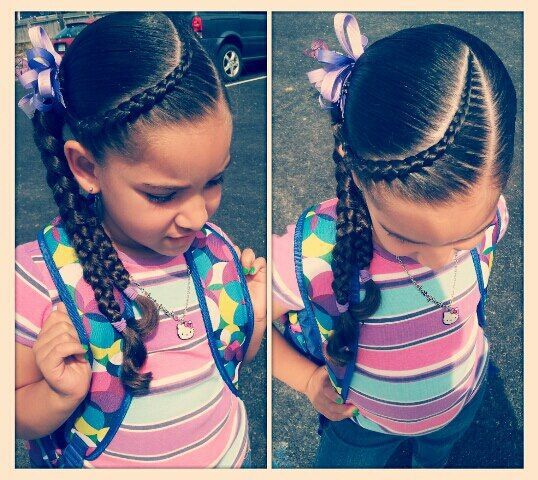 Little-Girl's-Braids-with-Beads-4 How to Style Little Girl's Braids with Beads