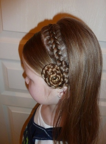 Little-Girl's-Braids-with-Beads-41 How to Style Little Girl's Braids with Beads