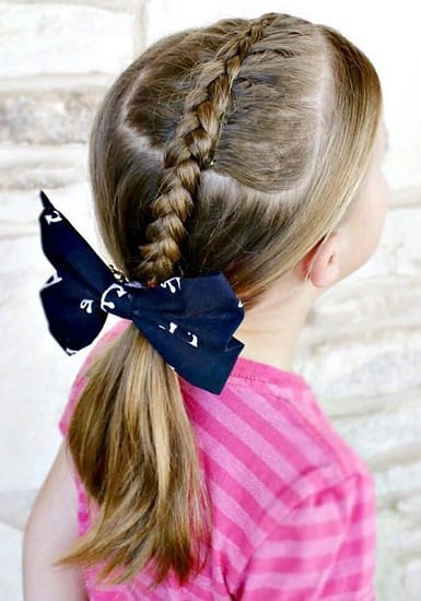 Little-Girl's-Braids-with-Beads-46 How to Style Little Girl's Braids with Beads