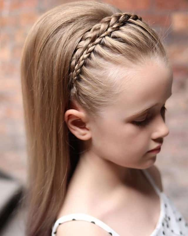 Little-Girl's-Braids-with-Beads-51 How to Style Little Girl's Braids with Beads