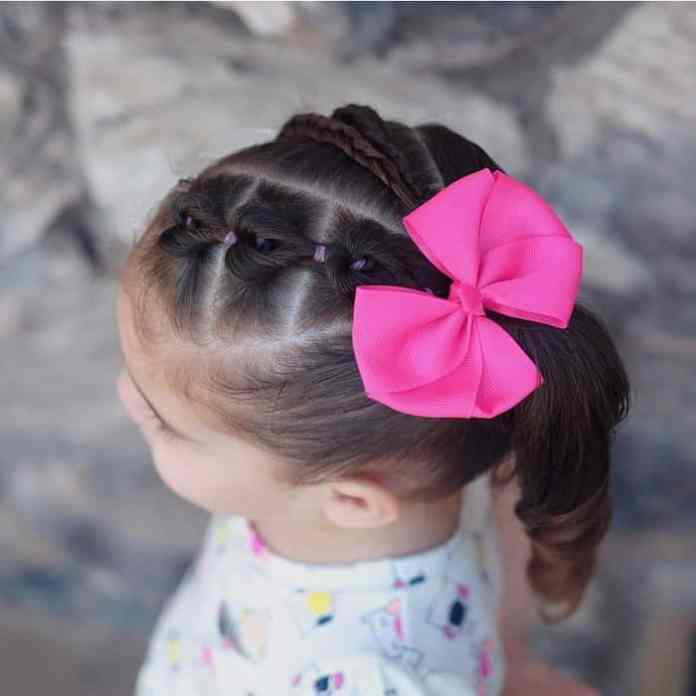 Little-Girl's-Braids-with-Beads-58 How to Style Little Girl's Braids with Beads