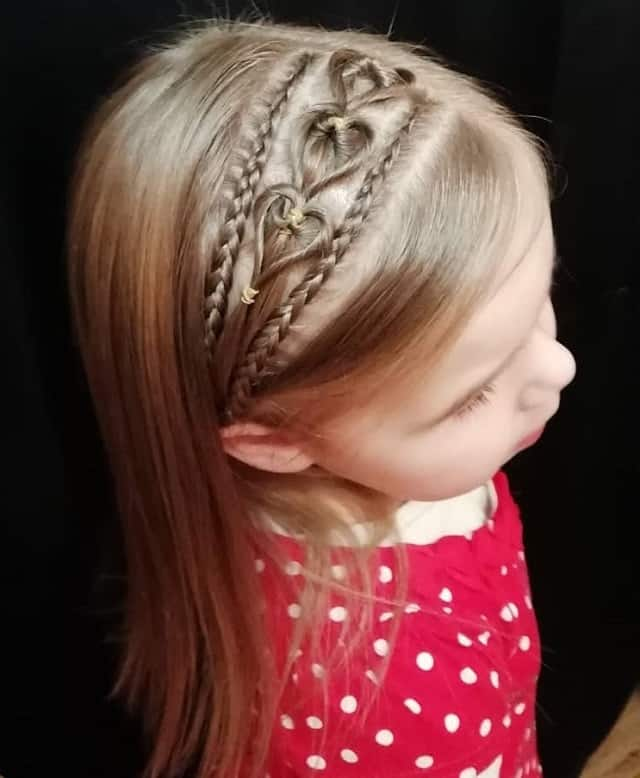 Little-Girl's-Braids-with-Beads-63 How to Style Little Girl's Braids with Beads