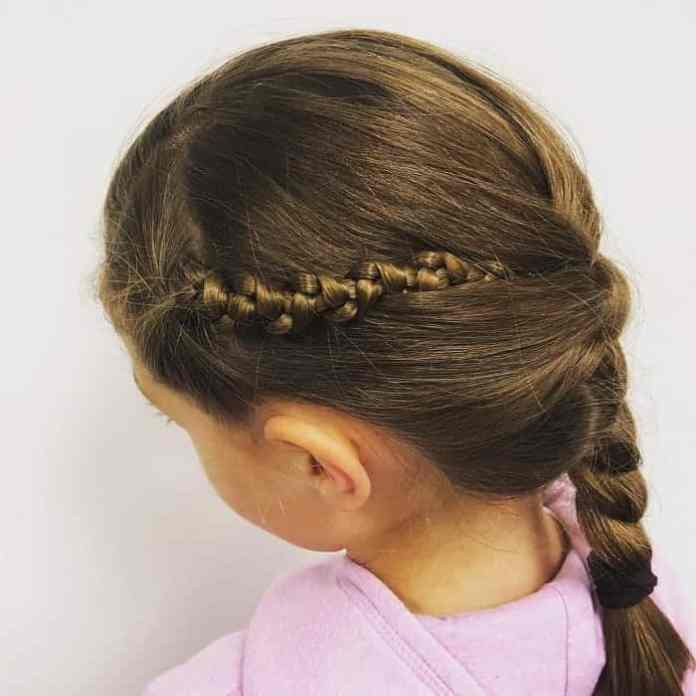 Little-Girl's-Braids-with-Beads-70 How to Style Little Girl's Braids with Beads