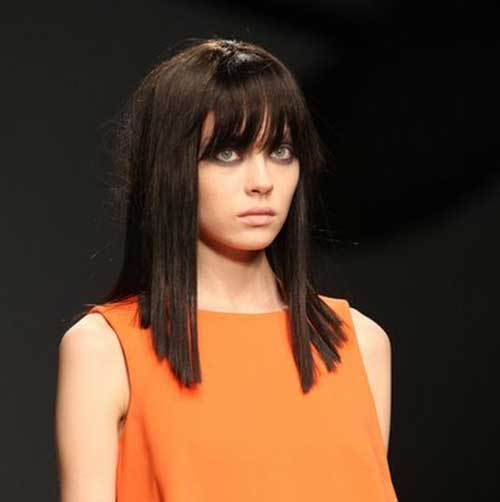 """Long-""""Non-Bob"""" Captivating Inverted Bob Hairstyles That Can Keep You Out of Trouble"""