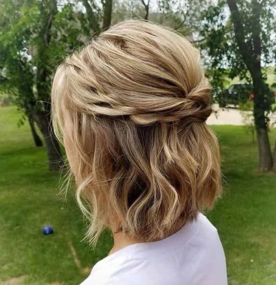Medium-Hair-Updo Amazing Medium Length Bob Hairstyles to Explore