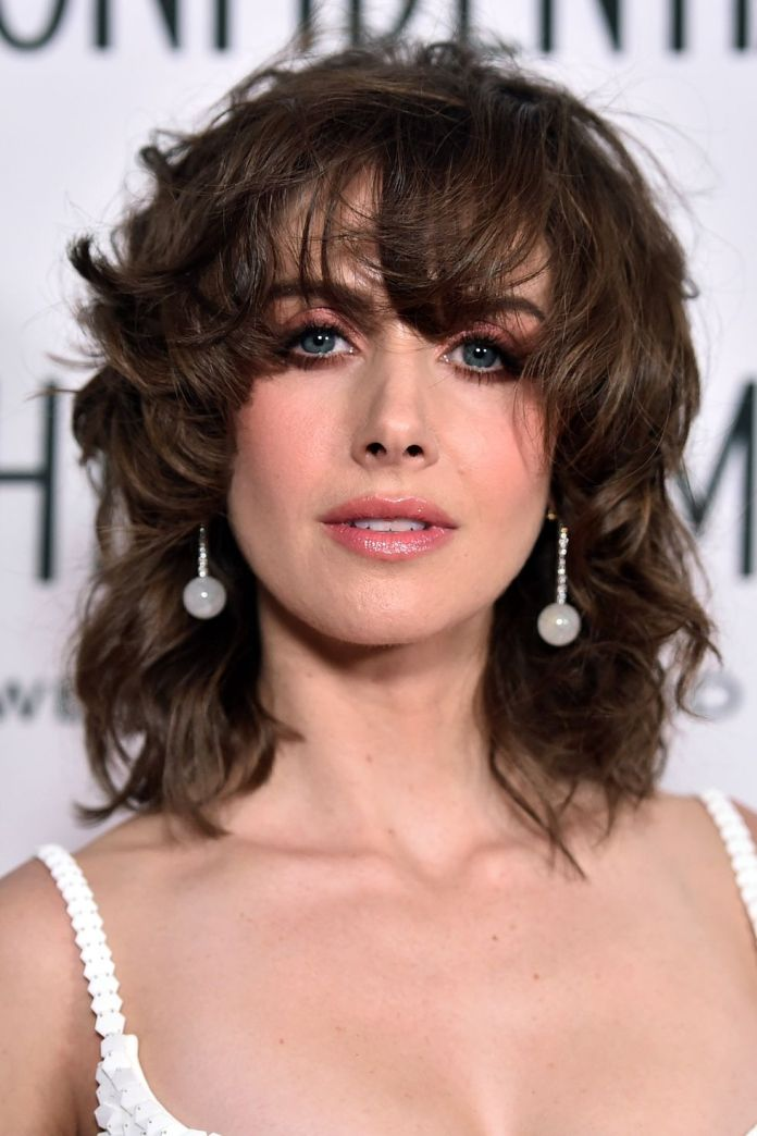 Messy-Fringe 12 Best Hairstyles with Bangs to Inspire Your Next Cut