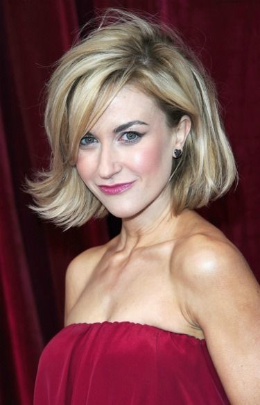 Messy-blond-bob Captivating Inverted Bob Hairstyles That Can Keep You Out of Trouble